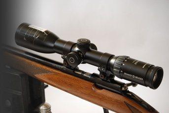 Schmidt & Bender 1 5-6x42 Zenith Flash Dot | Rifle Scope