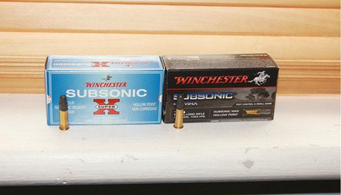 Ammo Test Winchester 42-grain sub-sonic | Rifle Ammunition | Gun Mart