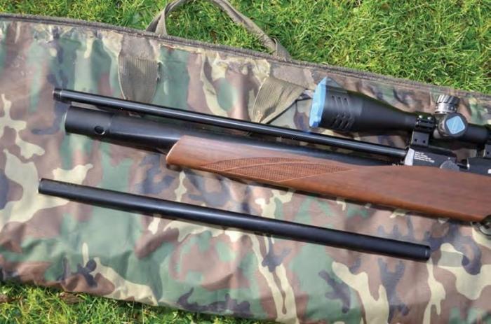 FX Streamline Walnut | PCP Rifle Reviews | Gun Mart