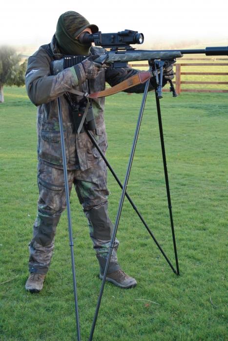 Quadpod Shooting Sticks Shooting Equipment Reviews Gun
