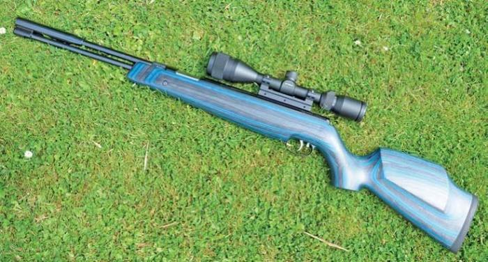 Weihrauch HW97K Blue Laminate Stock | Spring Air Rifle