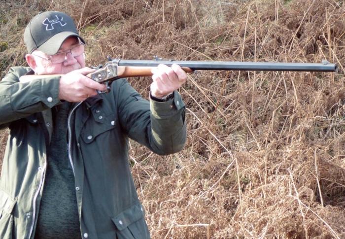Pedersoli remington Rolling Block Rifle | Reproduction