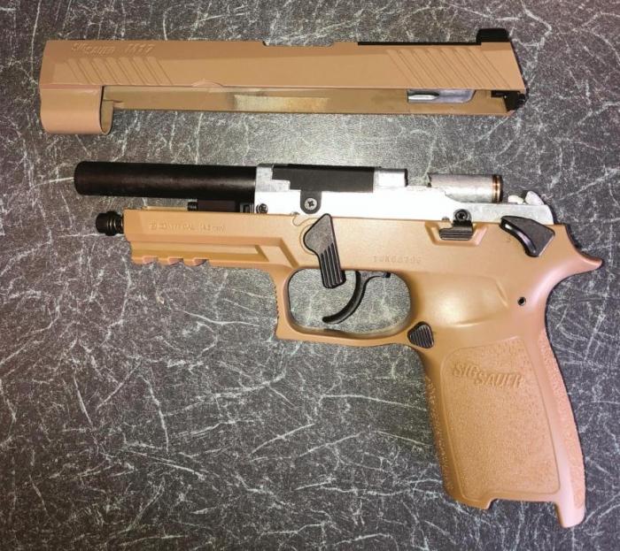 Sig Sauer M17 | CO2 Pistol Reviews | Gun Mart