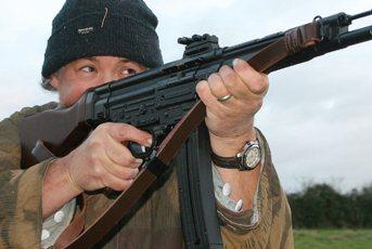 GSG STG 44 semi auto rifle   Semi Auto Rimfire Rifle Reviews