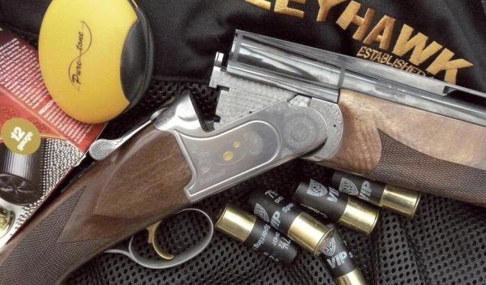 Bettinsoli X-8 Extra Trap   Over and Under Shotgun Reviews   Gun Mart