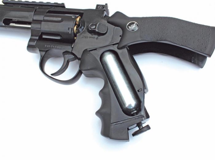 "Dan Wesson"" Black 8 inch CO2 Revolver | CO2 Pistol Reviews | Gun Mart"