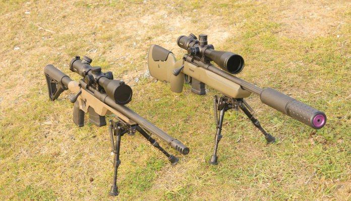 Mossberg MVP LC (308 Win) and Long range (223 Rem) rifles