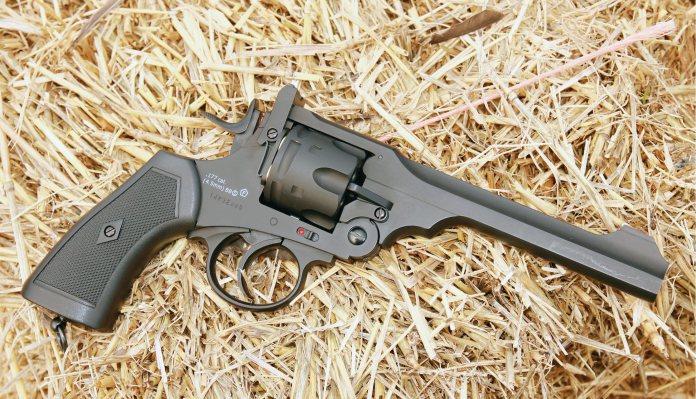 Webley Mk VI BB/CO2 revolver   CO2 Pistol Reviews   Gun Mart