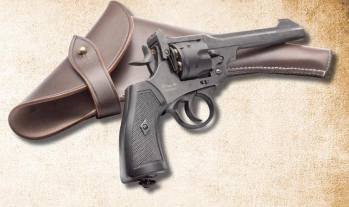 Webley Mk VI BB Revolver vs Mauser C96 Pistol   CO2 Pistol