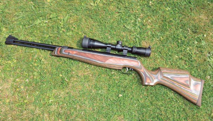 Weihrauch HW77 Laminate stock | Spring Air Rifle Reviews