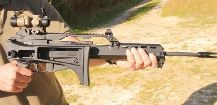 Walther HK G36   Semi Auto Rimfire Rifle Reviews   Gun Mart