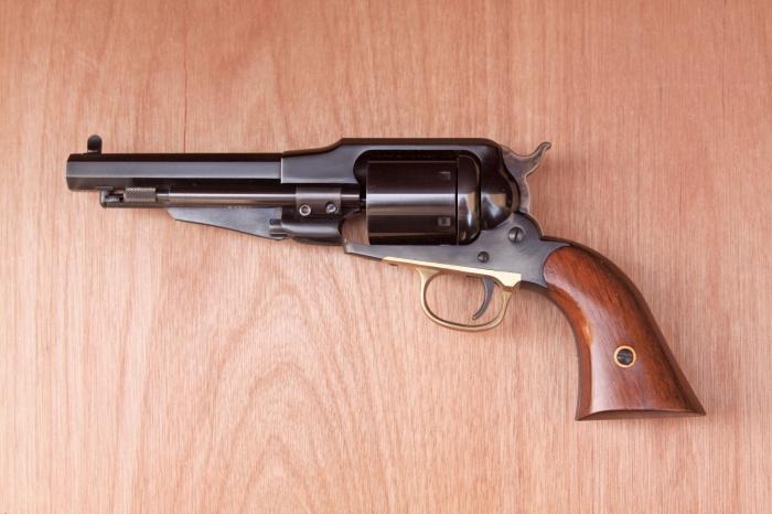 Uberti/Anvil Remington 1858 smokeless conversion | Muzzle Loading