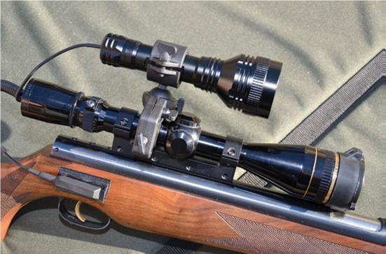 Clulite pro1 pro spotter gunlight