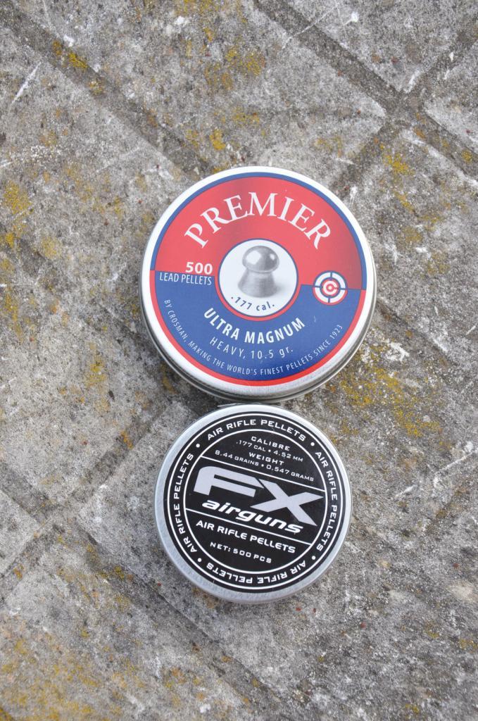 Crosman premier/ FX pellets