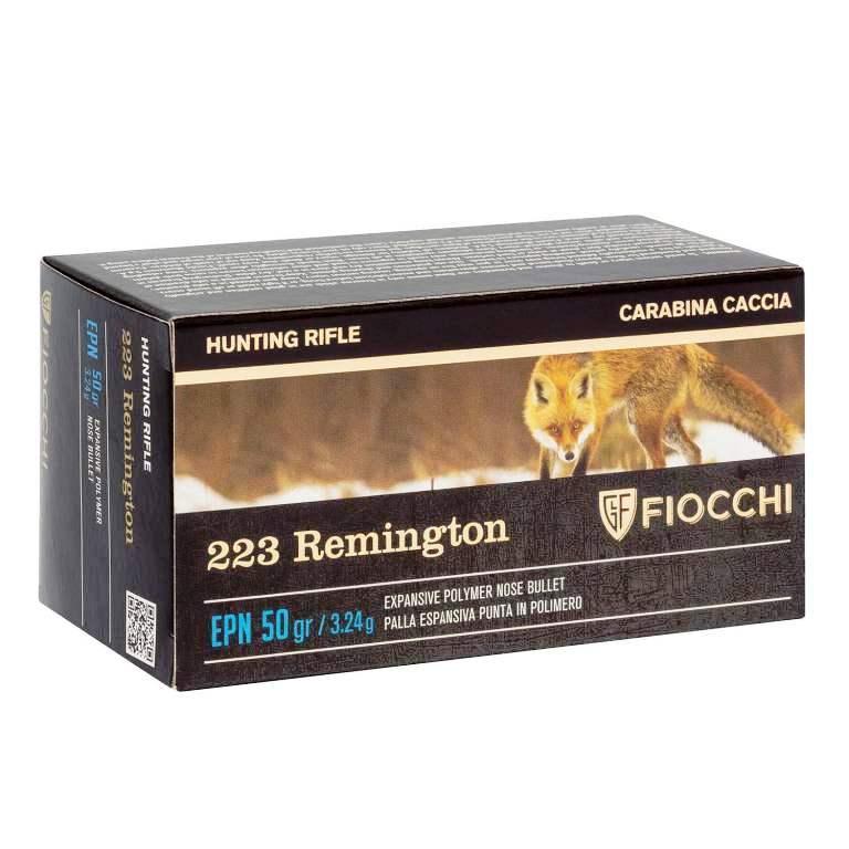 FIOCCHI .223 REMINGTON 50-GRAIN EPN AMMUNITION