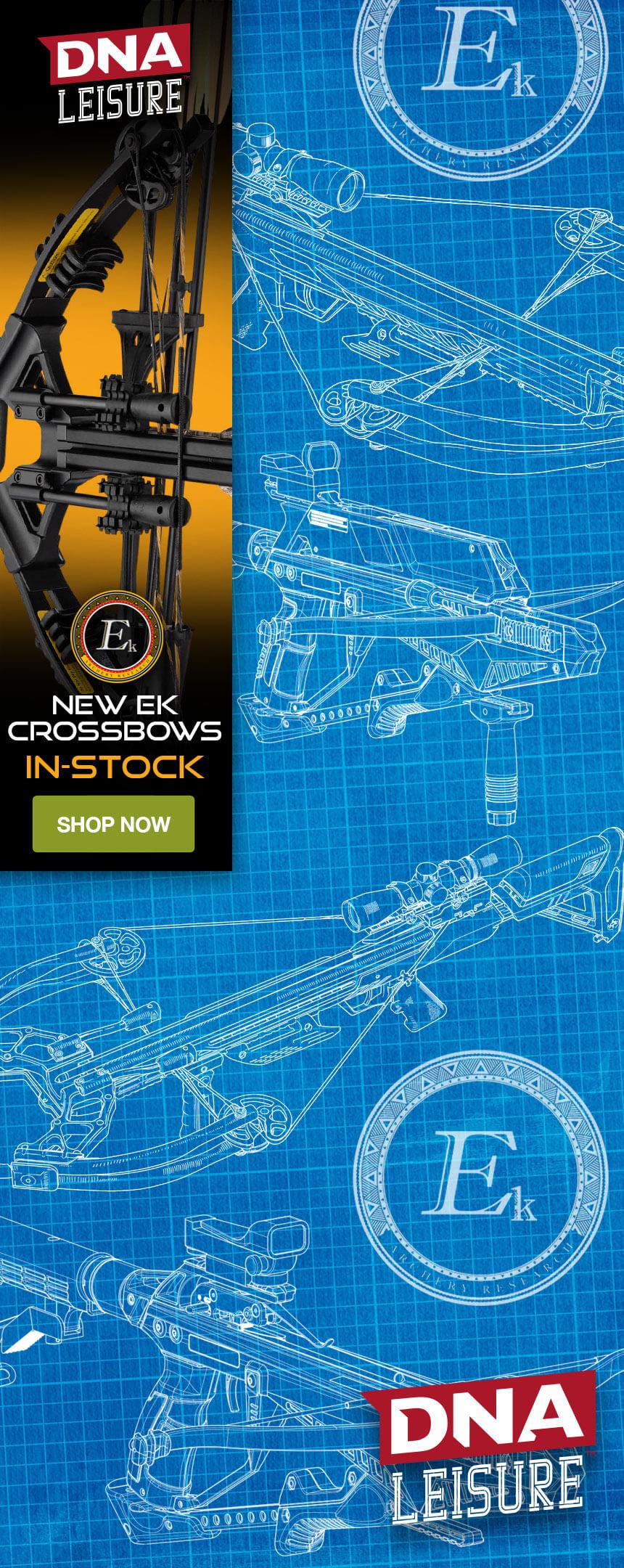 DNA leisure - New EK crossbows back in stock