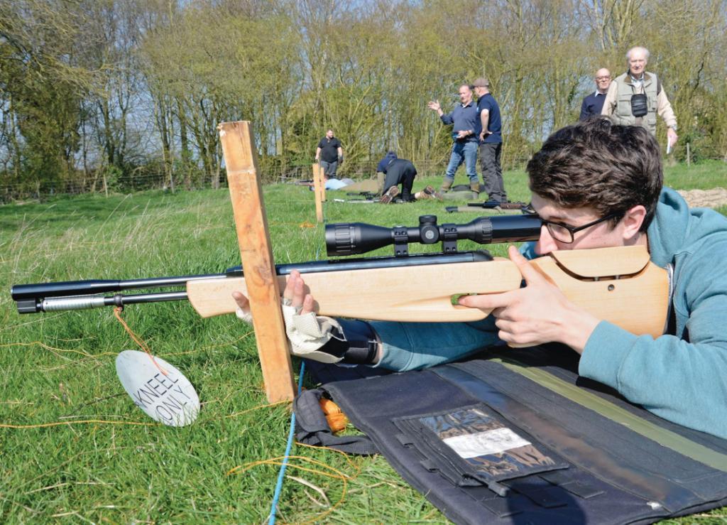 Hunter field target