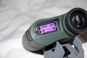Laser guide swarovski