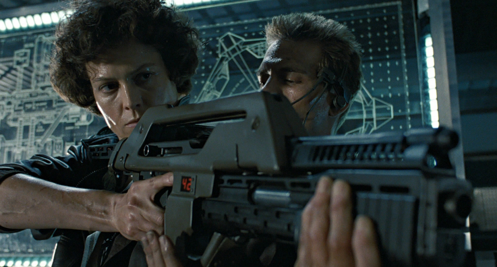 "4. ""In space no one can hear you scream"" – The M41A Pulse Rifle from the Alien Franchise"