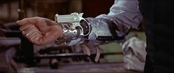 "5. Django ""the D is slient"" Unchained using the Cobra Big Bore Derringer"