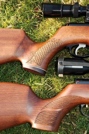 Air Arms TX200 vs the Weihrauch HW97K   Spring Air Rifle