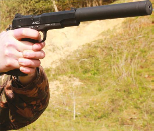 Gsg 1911 Long Barrelled Pistol Pistol Reviews Gun Mart