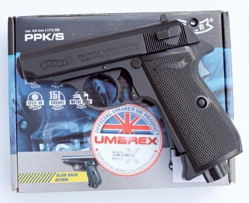 Umarex Walther PPK Pistol | CO2 Pistol Reviews | Gun Mart