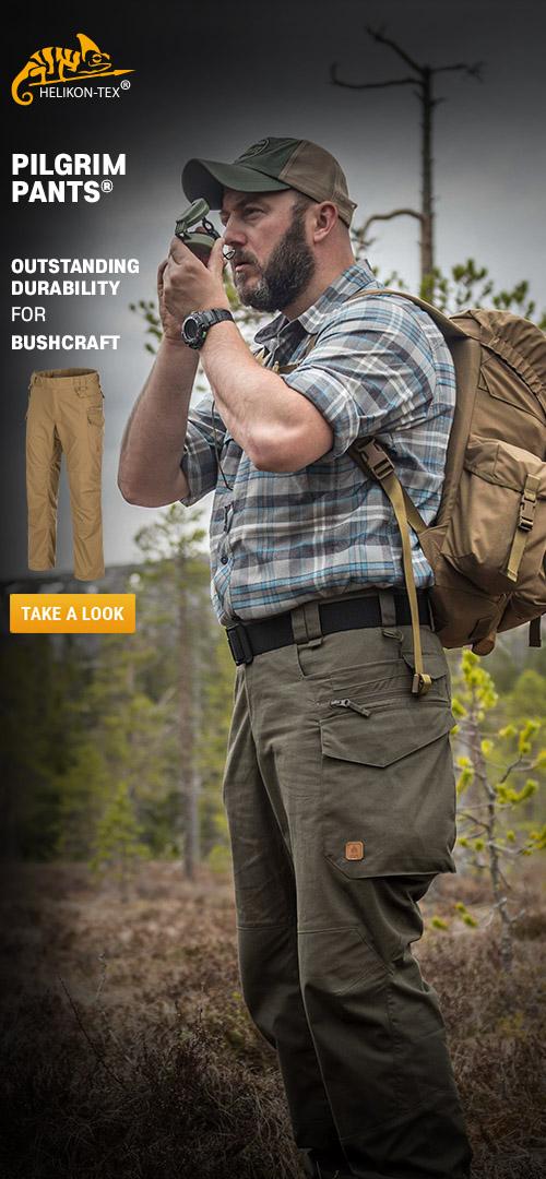 Helikon-Tex Pilgrim Pants - Outstanding durability for bushcraft