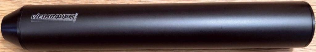 Weihrauch ½-inch Silencer