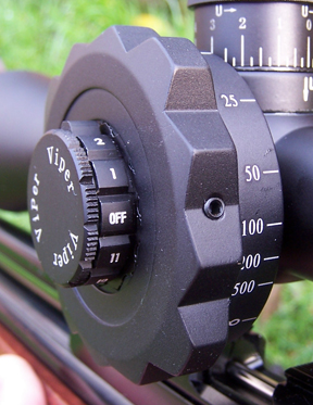 MTC Viper 4-16 X 50IR scope