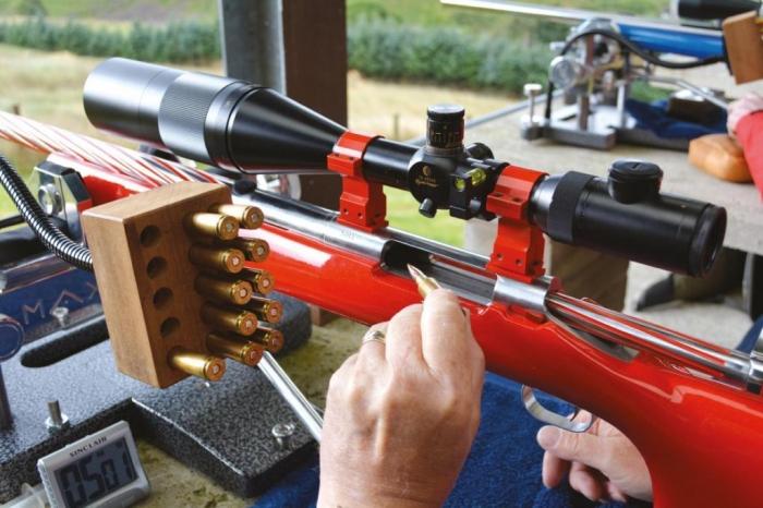 1000 Yard Bench Rest Shooting Target Shooting Gun Mart