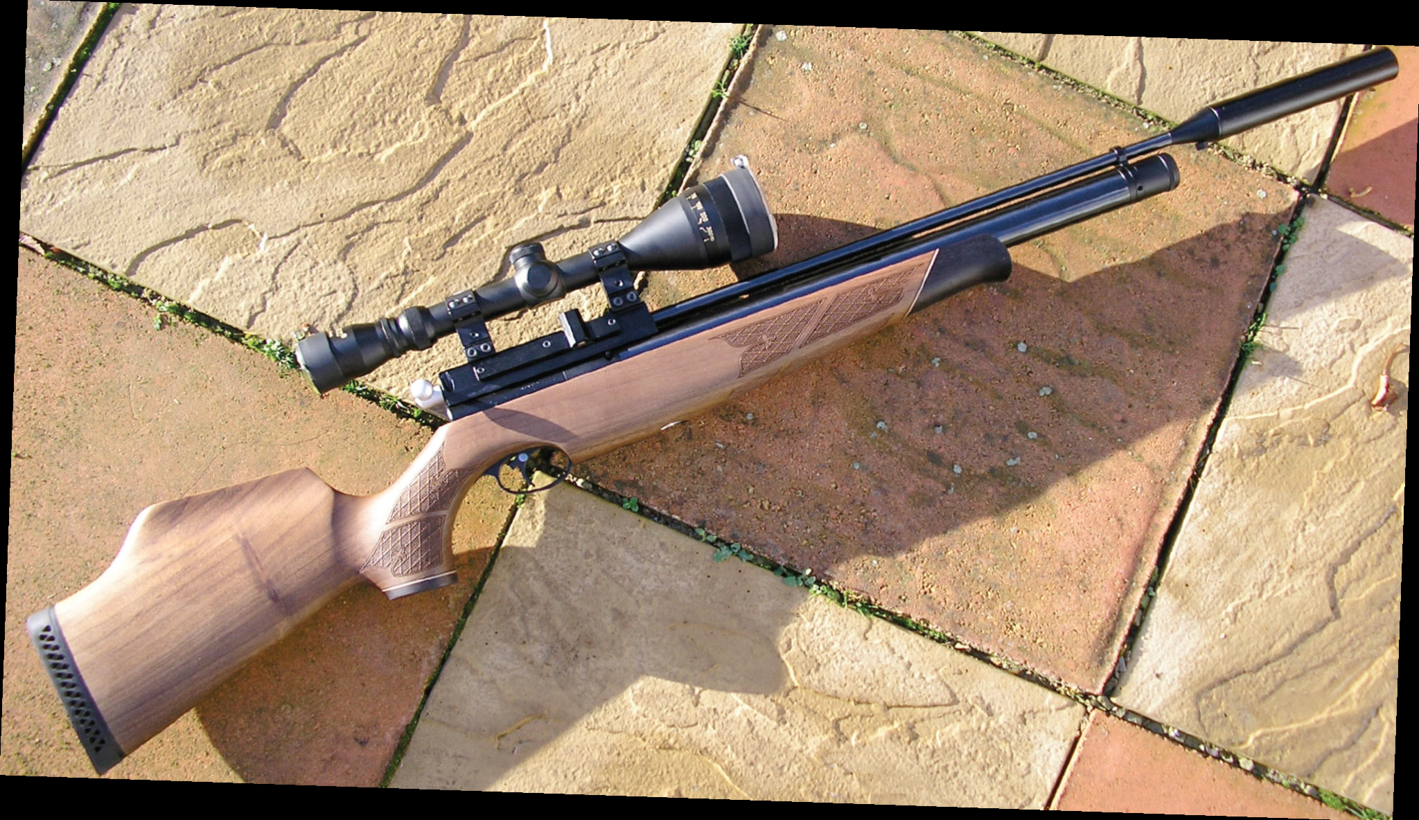 AIR ARMS S400 CLASSIC WALNUT
